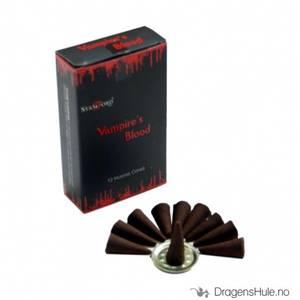 Bilde av Røkelse: Stamford Black Vampires Kiss Dhoop kjegler
