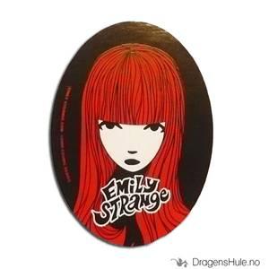 Bilde av Klistremerke: Emily Strange Red Head