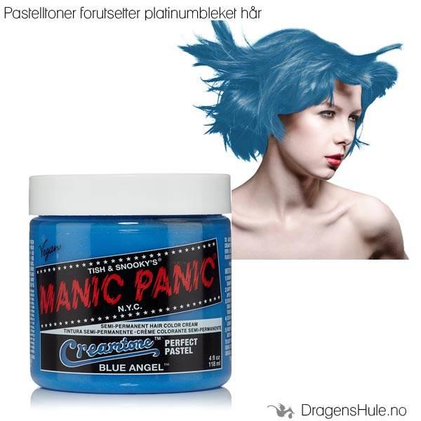 Hårtoner: Blue Angel Creamtone -Manic Panic