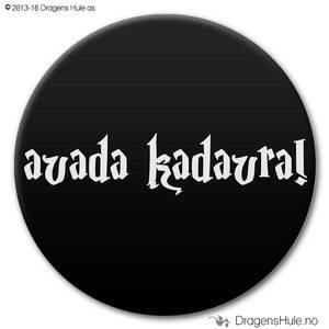 Bilde av  Button: Avada Kadavra (velg farge)