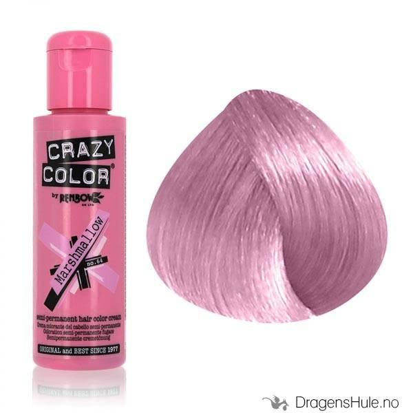 Hårtoner: Marshmallow -Crazy Color