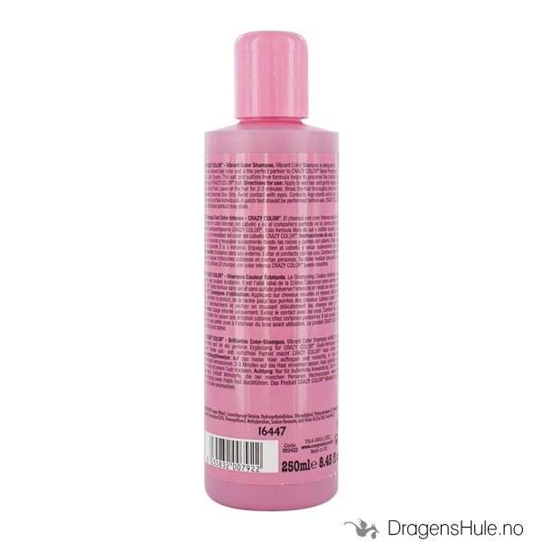 Hårpleie: Shampoo RED 250ml -Crazy Color