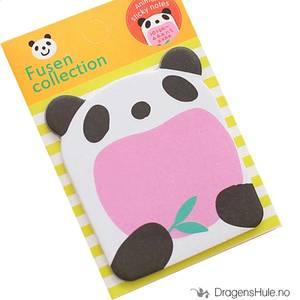 Bilde av Papir: Feed Panda mini post-it blokk